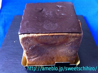 グルメレポーターちひろの辛口スイーツランキング-四角いシュークリーム(チョコ色)1