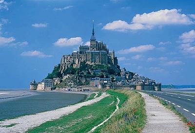 フランスのモンサンミッシェル