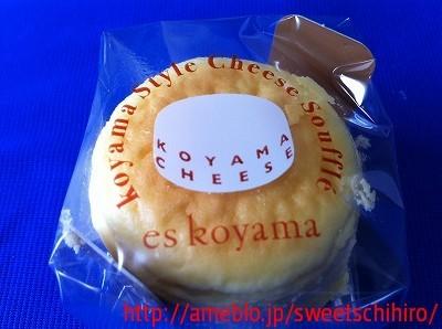 グルメレポーターちひろの辛口スイーツランキング-小山チーズ@エスコヤマ阪急梅田本店4