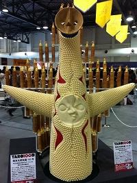 大阪スイーツレポーターちひろの辛口スイーツランキング ~スーパースイーツ男子がスイーツを斬る~-チョコで作った太陽の塔