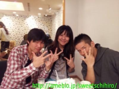 大阪スイーツレポーターちひろの辛口スイーツランキング-琉海さんとカフェ交流会