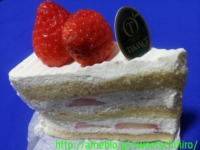 大阪スイーツレポーターちひろの辛口スイーツランキング-いちごのショートケーキ@新宿高野