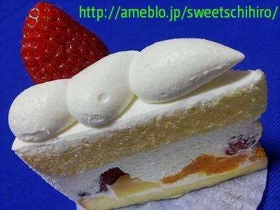大阪スイーツレポーターちひろの辛口スイーツランキング-レーブドゥシェフのショートケーキ