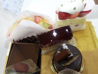 大阪スイーツレポーターちひろの辛口スイーツランキング-ショートケーキ@ジョエル淀屋橋odona