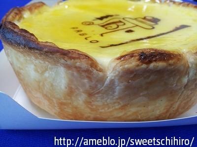 大阪スイーツレポーターちひろの辛口スイーツランキング-パブロ チーズケーキ クリスマスバージョン