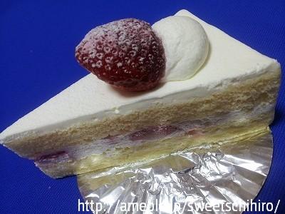大阪スイーツレポーターちひろの辛口スイーツランキング-ハンブルグ ショートケーキ