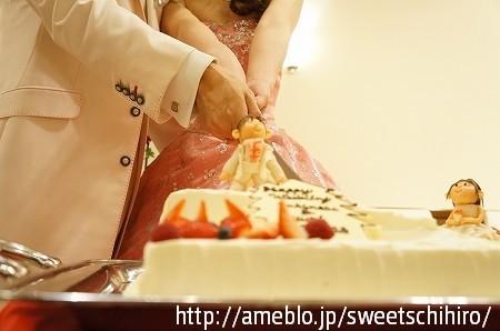 大阪スイーツレポーターちひろの辛口スイーツランキング-ウエディングケーキ