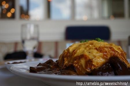 大阪スイーツレポーターちひろの辛口スイーツランキング-帝国ホテル大阪の特製オムライスとハッシュドビーフ