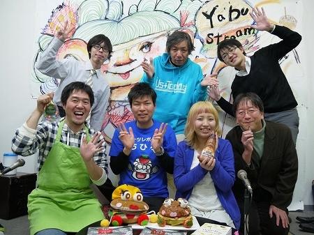 大阪スイーツレポーターちひろの辛口スイーツランキング-YABUSTREEM 記念撮影