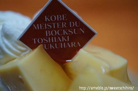 大阪スイーツレポーターちひろの辛口スイーツランキング-阪神梅田 ボックサン プリンショートケーキ