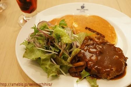 大阪スイーツレポーターちひろの辛口スイーツランキング-大阪 ハンバーグ パンケーキ