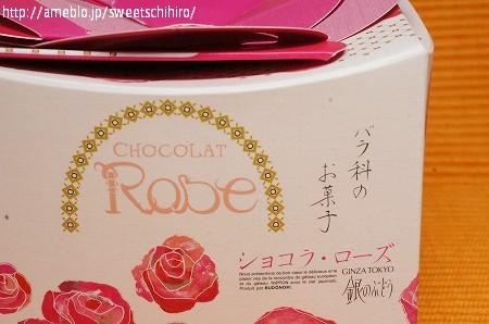 大阪スイーツレポーターちひろの辛口スイーツランキング-母の日スイーツ 銀のぶどう ショコラ・ローズ
