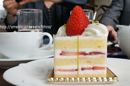 大阪スイーツレポーターちひろの辛口スイーツランキング-渋谷スイーツ エスタシオンカフェ ショートケーキ