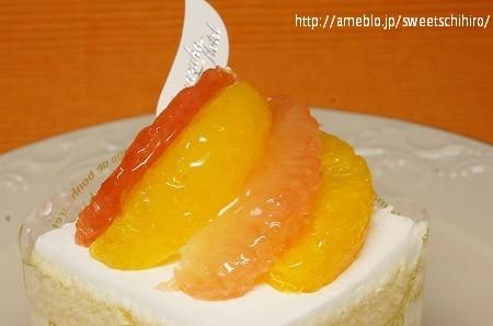 大阪スイーツレポーターちひろの辛口スイーツランキング-宝塚ホテル オレンジショートケーキ
