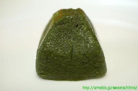 大阪スイーツレポーターちひろの辛口スイーツランキング-マールブランシュ お濃茶フォンダンショコラ