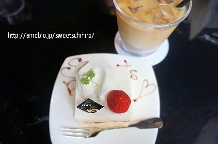 大阪スイーツレポーターちひろの辛口スイーツランキング-FOCE ショートケーキ