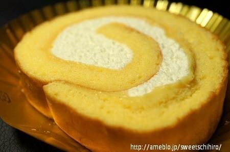 大阪スイーツレポーターちひろの辛口スイーツランキング-セブンイレブン 至福のロールケーキ たまごの恵み