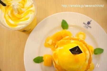 大阪スイーツレポーターちひろの辛口スイーツランキング-ブラザーズカフェ マンゴースムージー