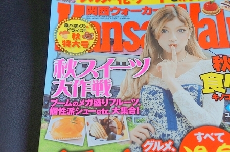 大阪スイーツレポーターちひろの辛口スイーツランキング-関西ウォーカーのスイーツ欄に掲載