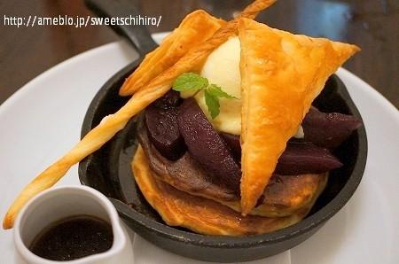 大阪スイーツレポーターちひろの辛口スイーツランキング-Butterコラボパンケーキ