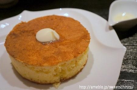 大阪スイーツレポーターちひろの辛口スイーツランキング-雪ノ下 発酵バターのパンケーキ