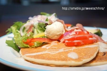 大阪スイーツレポーターちひろの辛口スイーツランキング-大阪ハワイアンパンケーキ KIRARA