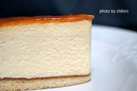 大阪スイーツレポーターちひろの辛口スイーツランキング-シャルルフレーデル チーズケーキ