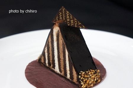 大阪スイーツレポーターちひろの辛口スイーツランキング-ベルアメール チョコレートケーキ