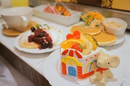 $大阪スイーツレポーターちひろのおいしいスイーツランキング-アンジュジュ アフタヌーンパンケーキ