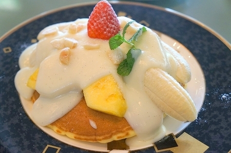 $大阪スイーツレポーターちひろのおいしいスイーツランキング-ホテルニューオオタニ大阪 パンケーキ
