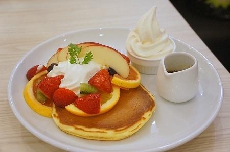 $大阪スイーツレポーターちひろのおいしいスイーツランキング-パンケーキ専門店Butter あべのフープ