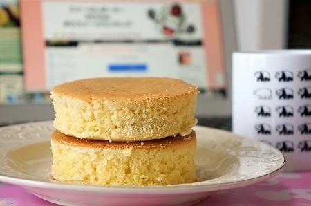 $大阪スイーツレポーターちひろのおいしいスイーツランキング-自作スフレパンケーキダブル
