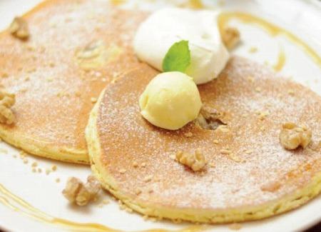 $大阪スイーツレポーターちひろのおいしいスイーツランキング-mg  生地が選べるパンケーキ