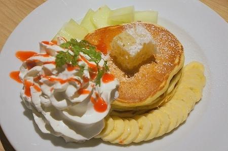 $大阪スイーツレポーターちひろのおいしいスイーツランキング-グランフロント大阪 URGE  パンケーキ