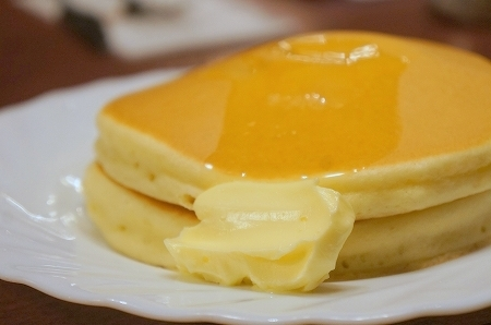 大阪スイーツレポーターちひろのおいしいスイーツランキング-東梅田サンシャイン 美味しいホットケーキ