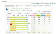 $大阪スイーツレポーターちひろのおいしいスイーツランキング-ブログアクセス数報告