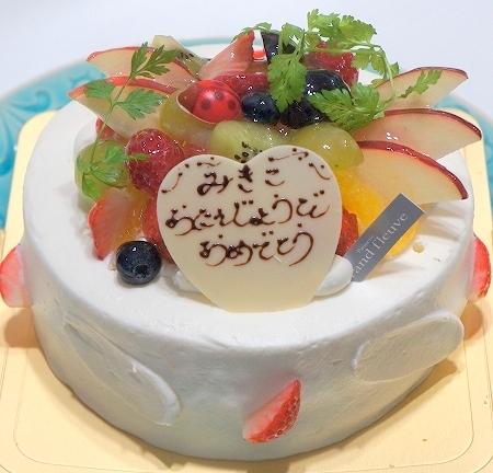 $大阪スイーツレポーターちひろのおいしいスイーツランキング-グランフルーヴ バースデーケーキ