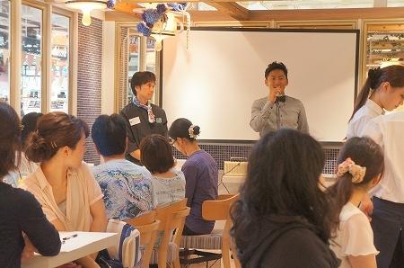 大阪スイーツレポーターちひろのおいしいスイーツランキング-ブラザーズカフェ ぶどう食べ比べ会イベント
