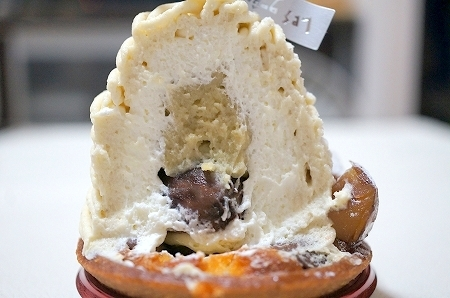 $大阪スイーツレポーターちひろのおいしいスイーツランキング-大阪の美味しいモンブラン レ・グーテ