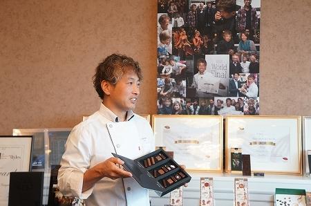 $大阪スイーツレポーターちひろのおいしいスイーツランキング-エスコヤマ「バレンタインコレクション2014」発表会