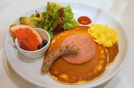 $大阪スイーツレポーターちひろのおいしいスイーツランキング-Butter(バター) モーニングパンケーキ