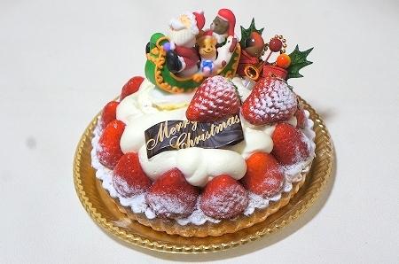 ミャムミャム クリスマス苺タルト