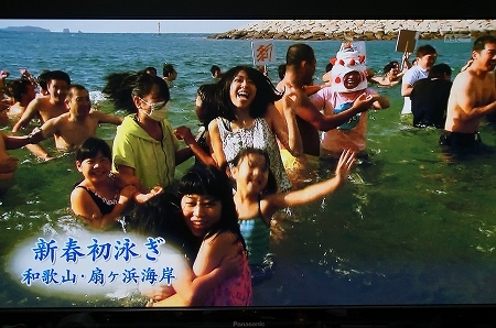 和歌山県 新春初泳ぎ