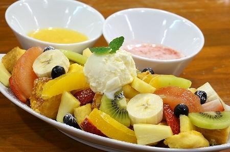 山口果物 果物いっぱいのフレンチトースト