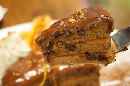 スイーツ番長プレゼンツ チョコレートパンケーキ