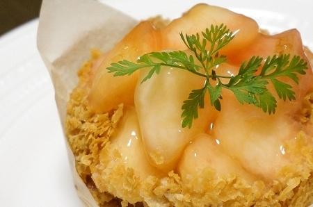 エスコヤマ 白桃のクリームパイ