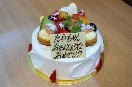 パティスリーワイスタイル バースデーケーキ