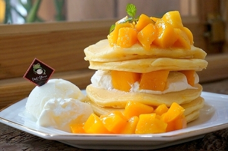 フロッグスダイナー マンゴーアイスパンケーキ