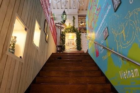 アジアンカフェ greenpapayacafe茶屋町