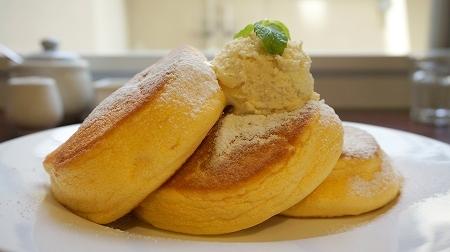 ニノーバルカフェ「幸せのパンケーキ」